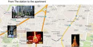 【 airbnb マニュアル作成 】外国人が迷わないアクセスマップの作り方